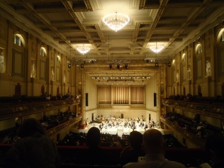 Boston Symphony hall.