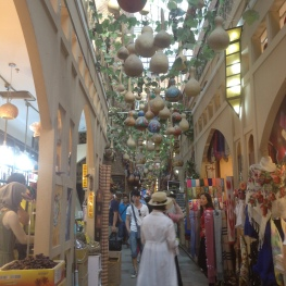 An inside view of this bazaar.