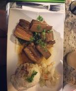 bacon pork w/ rice
