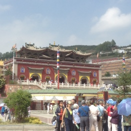 TaerSi temple -- outside view.