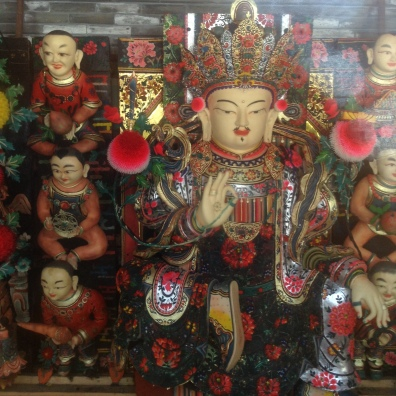 Tibetan Buddhist religious figures and symbols