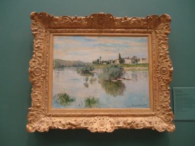 The Seine at Lavacourt - Claude Monet