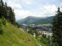 A birds-eye view of Davos.