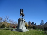 The statue of Thomas Ball at The Public Garden.