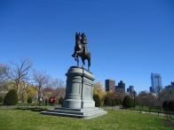 The statue of Thomas Ball at The Public Garden.