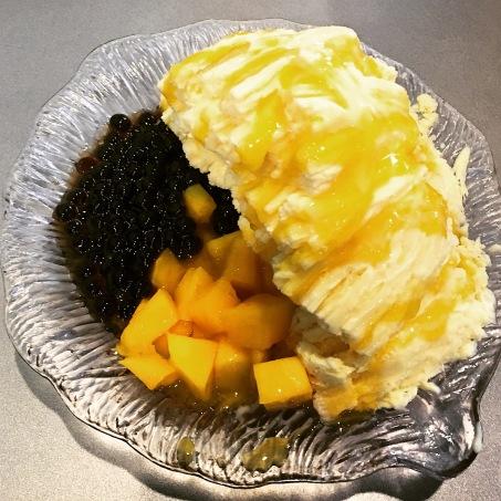 shaved mango ice