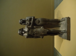 King Menkaura (Mycerinus) and queen