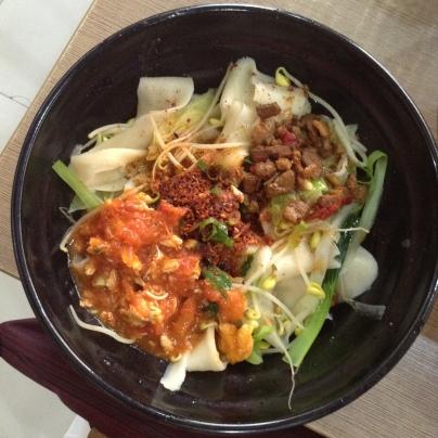 xi'an's famous biang biang noodles