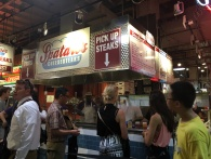 located inside the market, you'll be able to find a bunch of small restaurants selling a variety of food