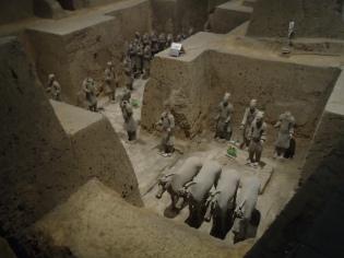 Terracotta warriors (guards & officials)