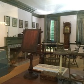 Jefferson's work room where he drafted the Declaration