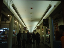 The countless restaurants within Quincy Market.