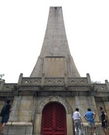 monument dedicated to Sun Yat-sen