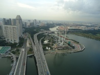 Singapore from a bird's-eye view.