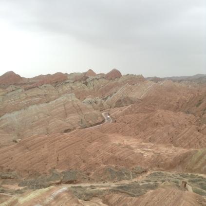 danxia landforms near Zhangye