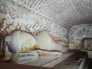 Another sleeping Buddha, this time in Mogao Grottoes (picture provided by tourist site)