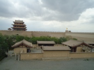 jiayuguan from the front