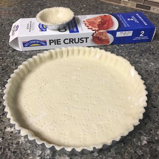 store-bought crust, if lazy like me