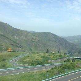the winding roads of Tian Chi