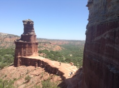 at the top of palo duro