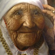 now this photo isn't from xinjiang, but it's a painting of a photo and it's so beautifully realistic