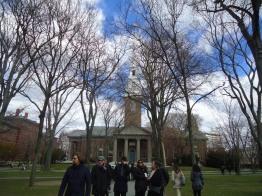 Harvard chapel.