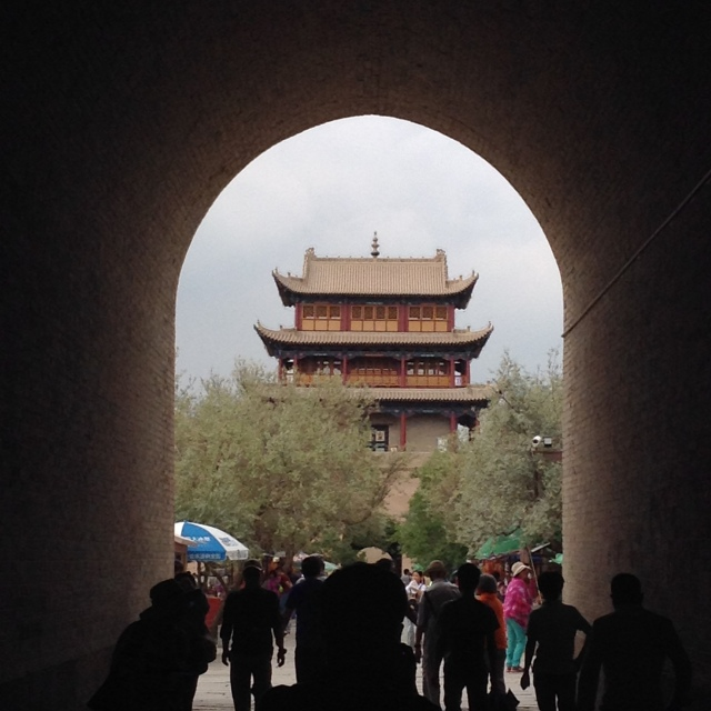 jiayuguan from an aesthetic point-of-view :)