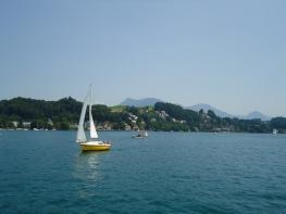 A little sailboat!