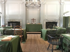 room where the constitution was signed