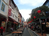 Singapore does have the feel of a Chinatown at some places.