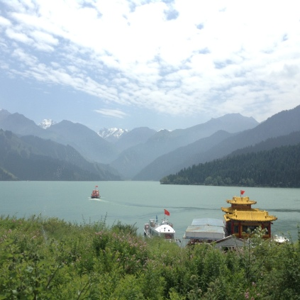 tian chi is also known as heavenly lake