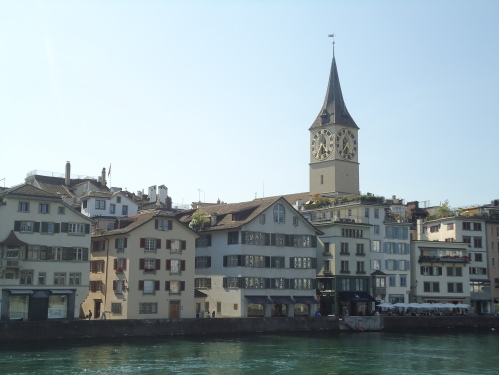 Another church. Switzerland's history is rich.