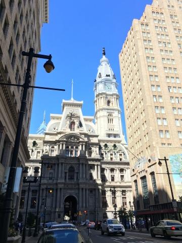 back of city hall